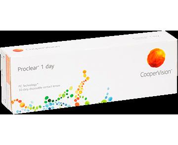 Proclear 1 Day однодневные 30 линз Cooper Vision