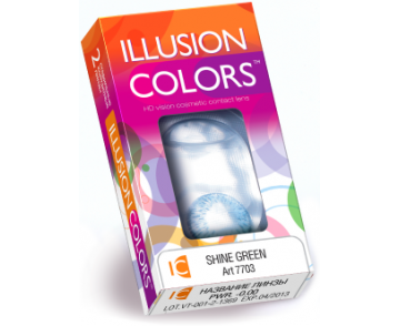 Линзы ILLUSION COLORS ELEGANCE