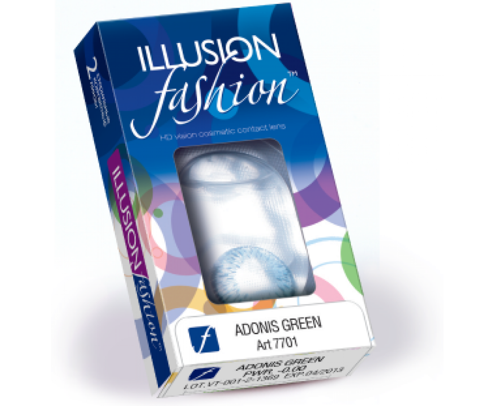 Линзы ILLUSION fashion LUXE