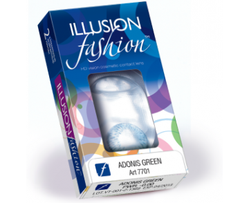 Линзы ILLUSION fashion Adonis